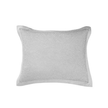 Picture of Waffle Weave Waffle Weave Sham - Pair - Gray - Sta