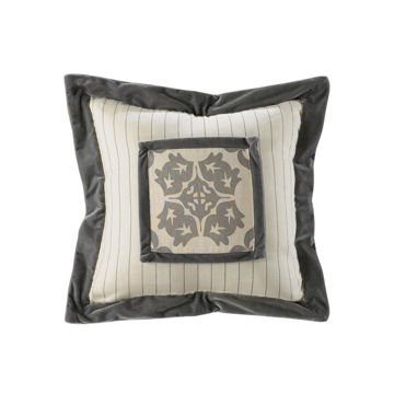 Picture of Kerrington Stripe Embroidery Pillow