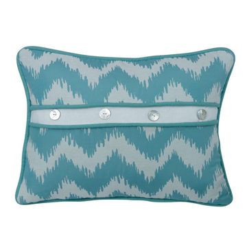 Picture of Chevron Button Pillow