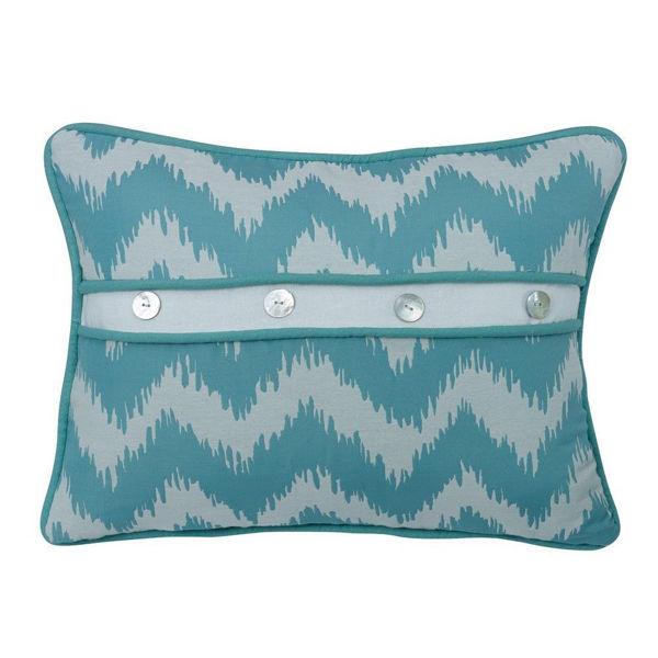 Picture of Chevron Button Pillow