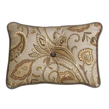 Picture of Piedmont Paisley Tufted Pillow