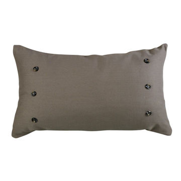 Picture of Piedmont Large Taupe Gray Pillow