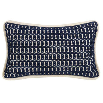 Picture of Monterrey Rope Embroidery Pillow