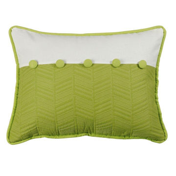 Picture of Fern and Quilted Pillow