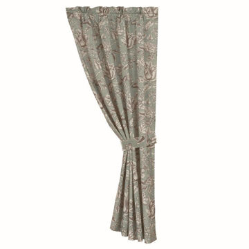 Picture of Gramercy Floral Curtain