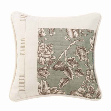 Picture of Gramercy Square Floral Pillow