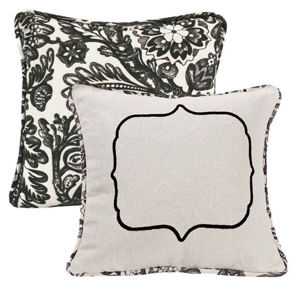 Picture of Augusta Embroidered Matelasse Pillow