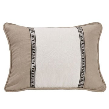 Picture of Augusta Embroidered Matelasse Oblong Pillow