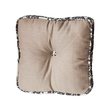 Picture of Augusta Toile Buttoned Boxed Pillow