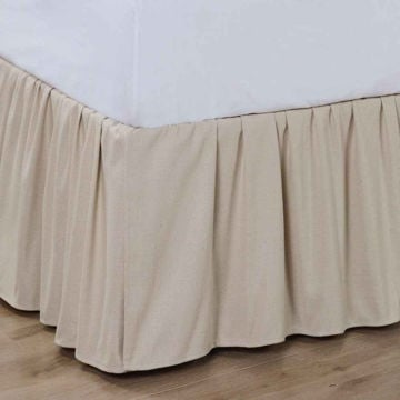 Picture of Charlotte Ruffled Bedskirt - Queen