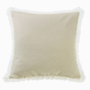 Picture of Charlotte Tan Burlap Square Pillow