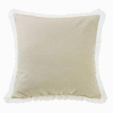 Picture of Charlotte Tan Burlap Square Pillow