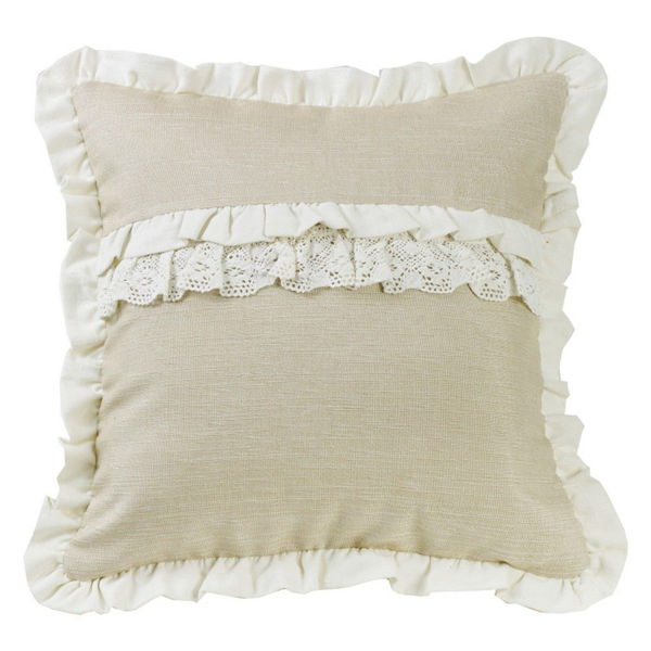 Picture of Charlotte Ruffle Accent Pillow