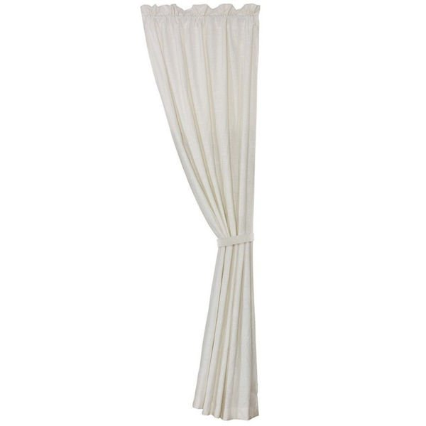 Picture of Newport White Linen Curtain