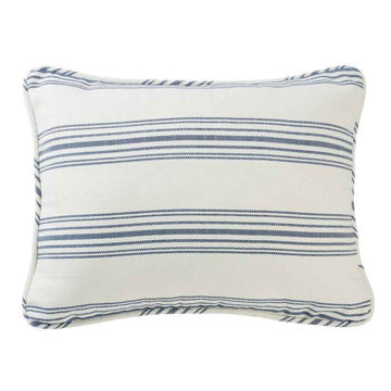 Picture of Prescott Stripe Pillow Sham Pair - Navy - King