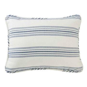 Picture of Prescott Stripe Pillow Sham Pair - Navy - King