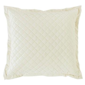 Picture of Velvet Diamond Euro Sham - Cream