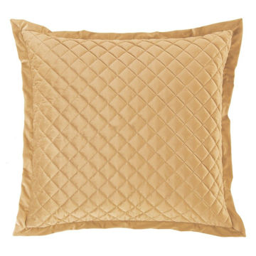 Picture of Velvet Diamond Euro Sham - Gold