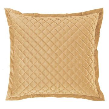 Picture of Velvet Diamond Euro Sham - Gold