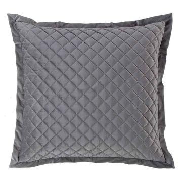 Picture of Velvet Diamond Euro Sham - Gray