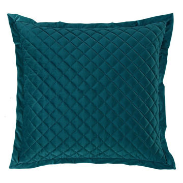 Picture of Velvet Diamond Euro Sham - Teal