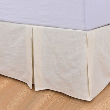 Picture of Prescott Tailored Stripe Bedskirt - Queen