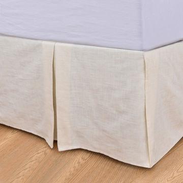 Picture of Prescott Tailored Stripe Bedskirt - Queen