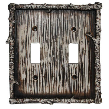 Picture of Birch Twig Double Switch Plate