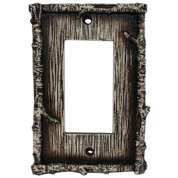 Picture of Birch Twig Single Rocker Plate