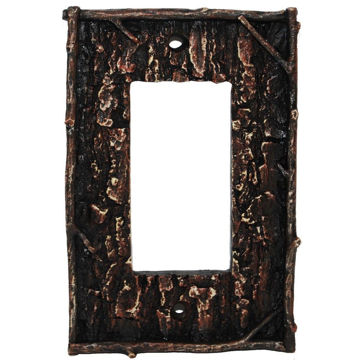 Picture of Pine Bark Single Rocker Plate