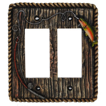 Picture of Trout Double Rocker Plate