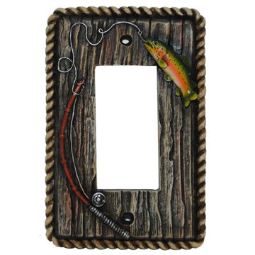 Picture of Trout Single Rocker Plate
