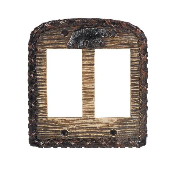Picture of Bear Double Rocker Plate