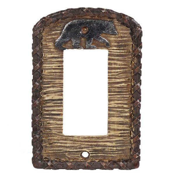 Picture of Bear Single Rocker Plate