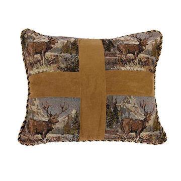 Picture of Elk Cross Pillow