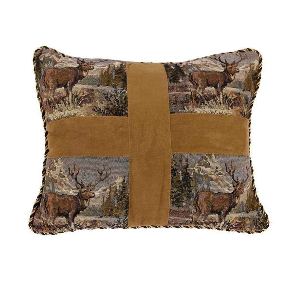 Picture of Elk Cross Pillow