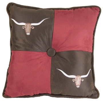 Picture of Longhorn Pillow
