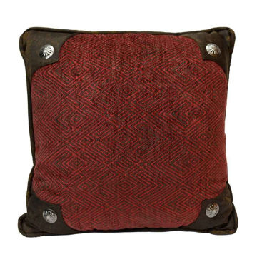 Picture of Wilderness Concho Chenille Pillow
