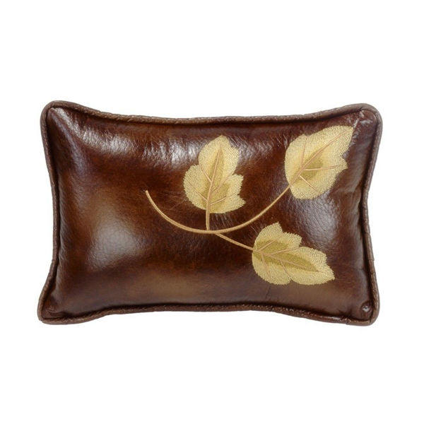 Picture of Highland Lodge Leaf Pillow