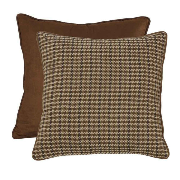 Picture of Crestwood Houndstooth Reversible Euro Sham