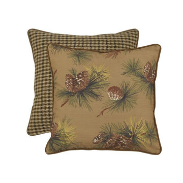 Picture of Crestwood Pinecone Reversible Euro Sham