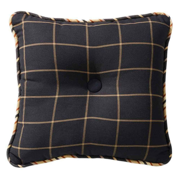 Picture of Ashbury Windowpane Tufted Pillow