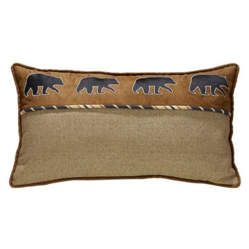 Picture of Ashbury Black Bear Pillow