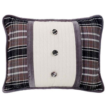 Picture of Whistler Oblong Pillow with Covered Button