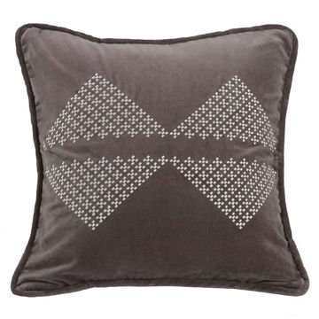 Picture of Whistler Embroidered Diamond Pillow