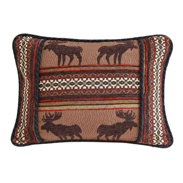 Picture of Bayfield Oblong Moose Pillow