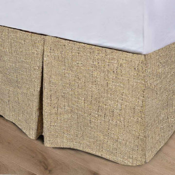 Picture of Carter Tweed Bedskirt - King