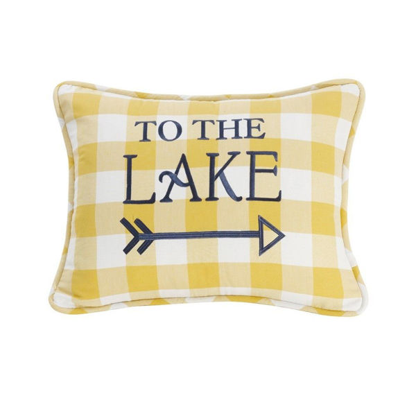 "Picture of Beaufort ""To The Lake"" Pillow"