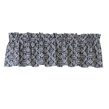 Picture of Nautical Printed Cotton Valance - Multi