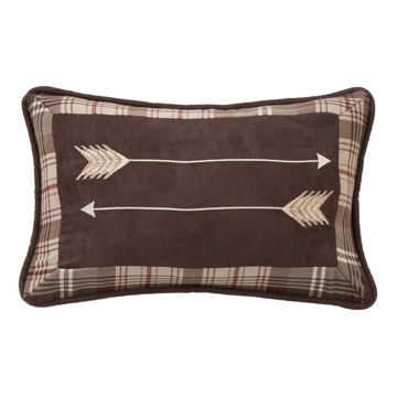 Picture of Huntsman Embroidery Arrow Pillow